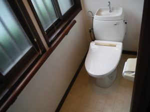 トイレ内装 施工前