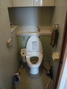 国立市 マンション トイレ 交換 Before