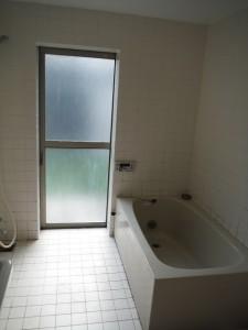 浴室 改装前