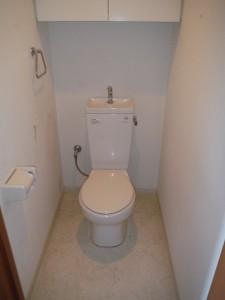 稲城市 トイレ交換 Before