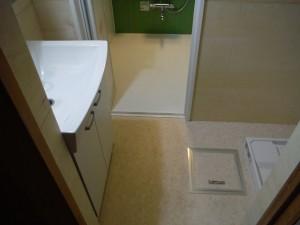 洗面浴室 改装後