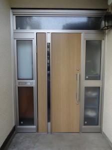 八王子市 玄関ドア交換 カバー工法 After