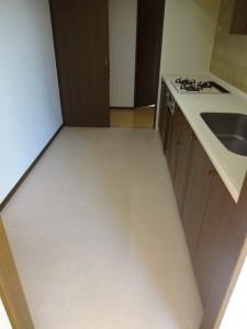 川崎市宮前区 マンション キッチン交換 クリナップ ラクエラ Before