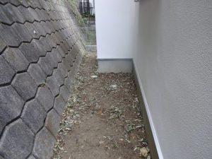 神奈川県川崎市麻生区 土間打ち 外構 Befoer