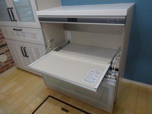 神奈川県川崎市多摩区 LIXIL リシェルsi カップボード 設置工事 家電収納