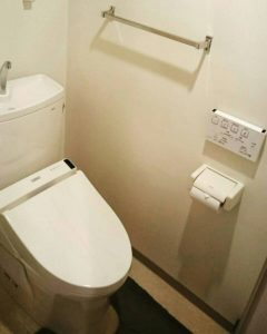 神奈川県 厚木市 マンション トイレ交換工事 ピュアレスト After
