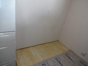 神奈川県 藤沢市 新築 戸建て カップボード設置工事 パナソニック ラクシーナ Before