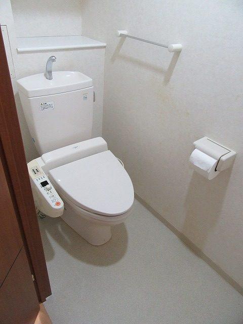神奈川県 横浜市 緑区 マンション トイレ交換工事 ピュアレスト アプリコット Before
