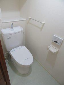 神奈川県 横浜市 緑区 マンション トイレ交換工事 ピュアレスト アプリコット After