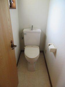 神奈川県 横浜市 緑区 マンション トイレ交換工事 ピュアレスト QR Before
