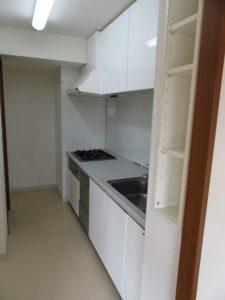 神奈川県 横浜市 緑区 マンション キッチン クリナップ クリンレディ Before