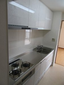 神奈川県 横浜市 緑区 マンション キッチン クリナップ クリンレディ After