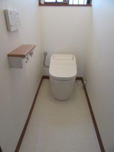 神奈川県 横浜市 港南区 戸建 トイレ交換工事 アラウーノS2 After