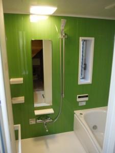 浴室 改装後 TOTO マンションリモデル WT
