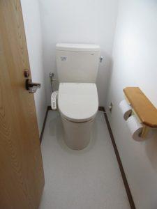 神奈川県 横浜市 緑区 マンション トイレ交換工事 ピュアレスト QR After